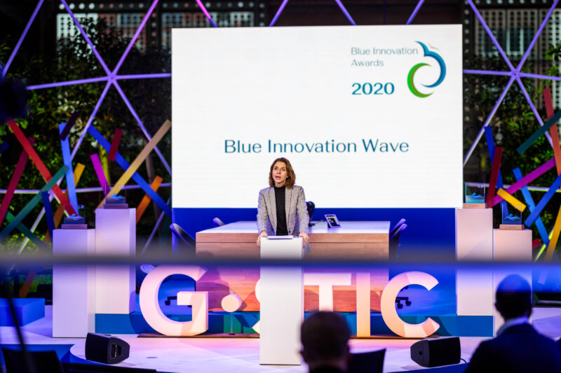 Blauwe cluster blue innovation award