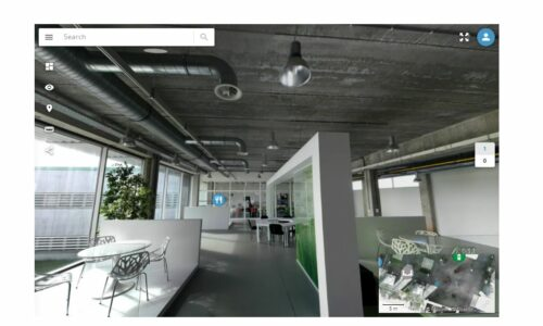 Digital twin virtual tour bluebridge